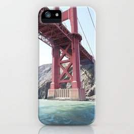 Summer in California - Golden Gate Bridge  iPhone Case