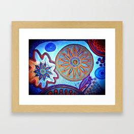 Energy of Orbs Framed Art Print