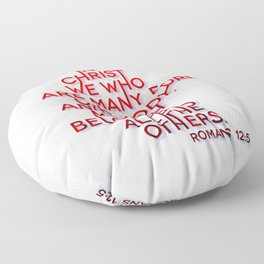One Body Floor Pillow