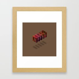Raspberry Chocolate Framed Art Print