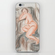 Exhaustion iPhone & iPod Skin