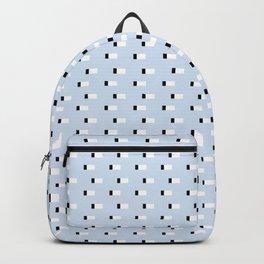 Minimal Squares - Steel Blue Backpack