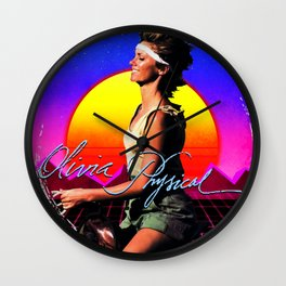 Olivia Newton-John - Physical - sunset Wall Clock