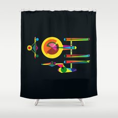 Enterprise Shower Curtain