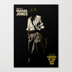Indiana Jones: Raiders of the Lost Ark Canvas Print