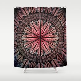 Fantasy flower and petals Shower Curtain