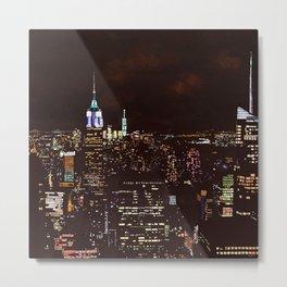 New York Perspective Metal Print