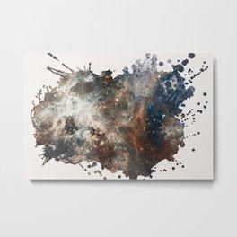 29 Painting with Galaxies Metal Print