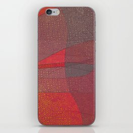 """""""Pastel Abstract Symmetrical Landscape"""" iPhone Skin"""