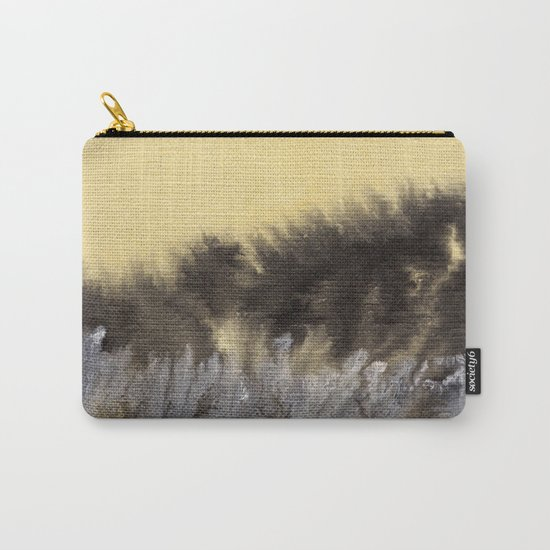 Watercolor abstract landscape 09 Carry-All Pouch