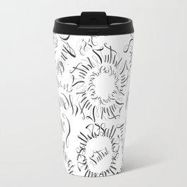 Calligraphic Dreams Travel Mug