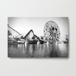 California Adventure: Paradise Pier Metal Print