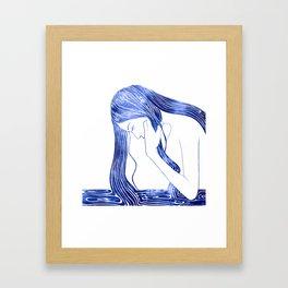 Nereid IV Framed Art Print