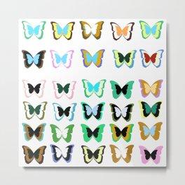 Butterflies Metal Print