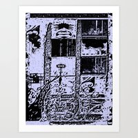 apartment living Chaos Art Print