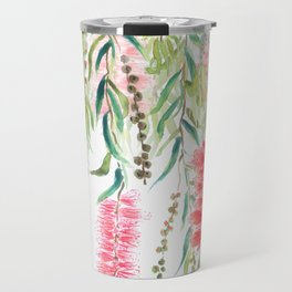 bottle brush tree flower Travel Mug
