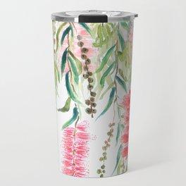 bottle brush tree flower Travel Mug