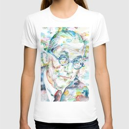 LE CORBUSIER - watercolor portrait T-shirt