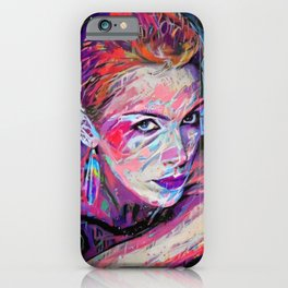 Annie Lennox #1 by Kulture Bang iPhone Case