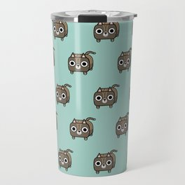 Cat Loaf - Brown Tabby Kitty Travel Mug