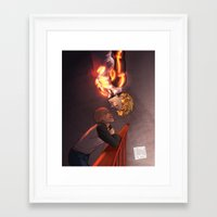 johannathemad Framed Art Prints featuring SaiGenos by JohannaTheMad