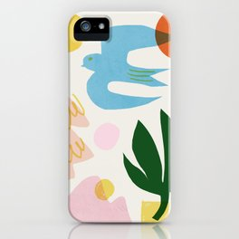 Abstraction_Nature_Beautiful_Day iPhone Case