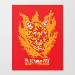El Diablo VFX  Canvas Print