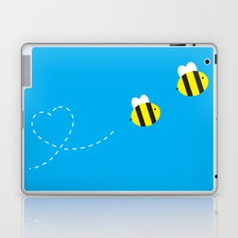 Bee in Love Laptop & iPad Skin
