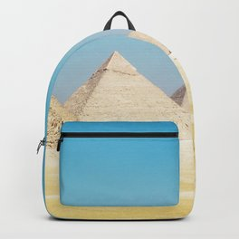 Pyramids Beneath Blue Skies Backpack