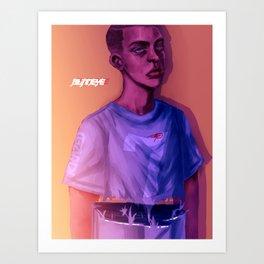 BlindEye(v2) Art Print