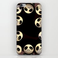 nightmare before christmas iPhone & iPod Skins featuring Nightmare before Christmas. by alyssatan