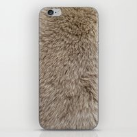 ferret iPhone & iPod Skins featuring Ferret Texture by Diego Tirigall