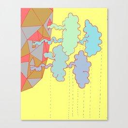 Cloud Factory Canvas Print