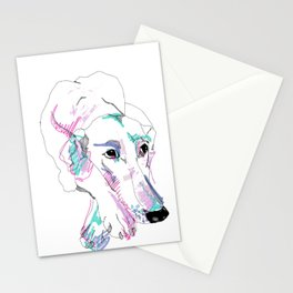 Lurcher Stationery Cards
