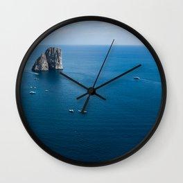 Italian landscapes - Capri Wall Clock