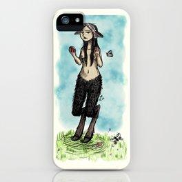 Satyress iPhone Case