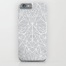 Abstract Lace on Grey iPhone 6s Slim Case