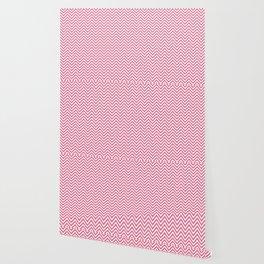 Light Pink Chevrons Wallpaper