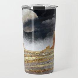 Metallic Desert Travel Mug