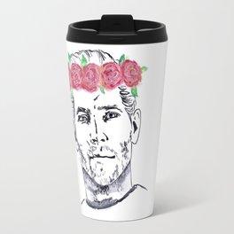 Cullen Flower Crown Travel Mug
