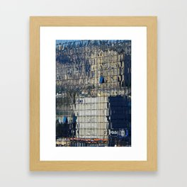 Reflections in the mirrors Framed Art Print