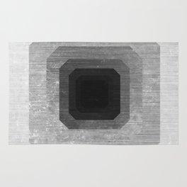 metal polygon Rug