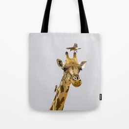 Perch of the Wild Tote Bag