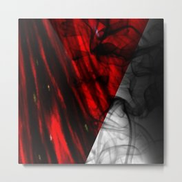 RedSmoke Metal Print