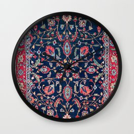 Heriz Azerbaijan North West Persian Rug Print Wall Clock