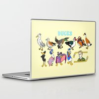 ducks Laptop & iPad Skins featuring Ducks by Natelle Quek