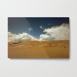 The Great Sand Dunes (Colorado) Metal Print