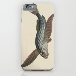 Vintage Flying Fish iPhone Case