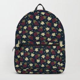Sweet Grapevine on Dark Navy Blue Backpack