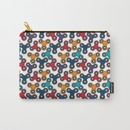Pattern with spinners Carry-All Pouch